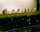 箏曲班の演奏