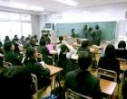 中1 学級委員選挙開票