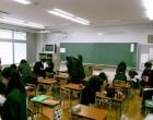 中1 昼休みの教室