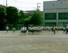中学1年生 ドッジボール大会-2