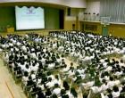 高校性教育講演会 アリーナ