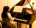 生徒による奏楽