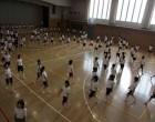 高2 運動会リトミックの練習