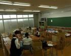 各教室で準備が始まりました