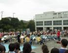 ブラスバンド班校庭公演
