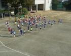 ダン実中心に運動会のダンス練習
