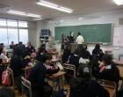 中1 学級委員選挙