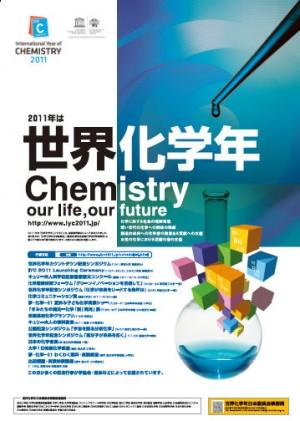 世界化学年のポスター