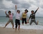 伊江島のピーチで
