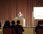 沖縄戦を体験した島袋さんの講演
