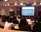高2地理 階段教室で授業