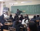 中2 各教室で討論会