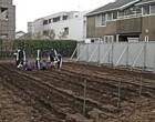 新しい園芸の実習農園