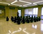 1年6組 保健体育の授業