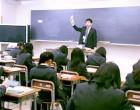 1年7組 国語の授業