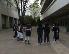 ソフトボール班は練習の説明