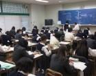 高3 自教室で個人面接と自習