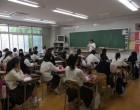 中1 軽井沢研修会の説明